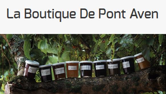 Logo et visuel La Boutique de Pont-Aven