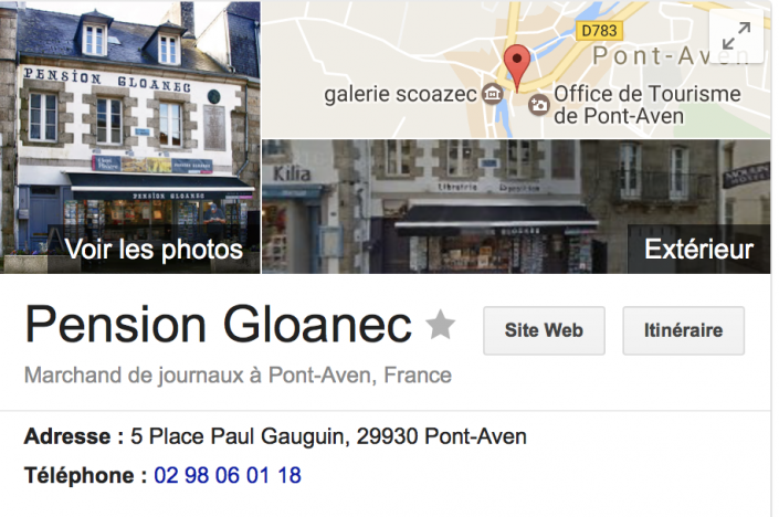 Pension Gloanec